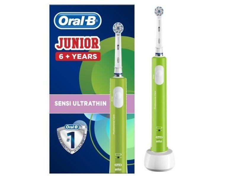 Oral-b junior 6+ brosse a dents electrique rechargeable - vert ORA4210201202318