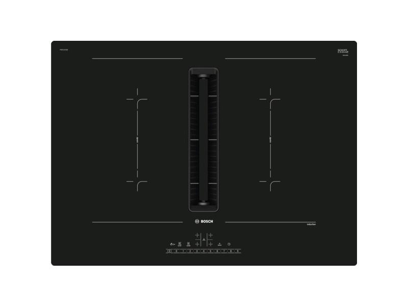 Plaque induction 500m³/h bosch 7400w 71cm, pvq711f15e