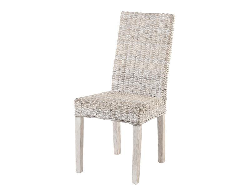 destockage 50 chaise zicavo en rotin kubu vente de chaise conforama. Black Bedroom Furniture Sets. Home Design Ideas
