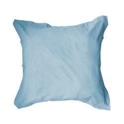 Taie d'oreiller 100% coton 57fils portofino blue