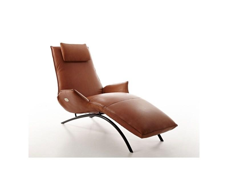Chaise longue électrique de relaxation massante madame day lounge