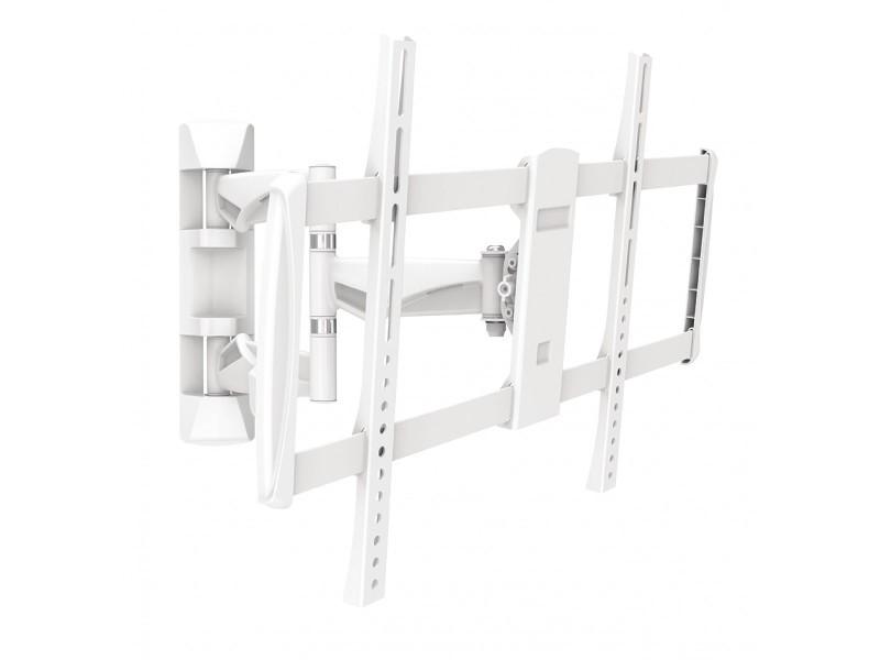 support tv mural mouvement int gral 42 70 35 kg blanc. Black Bedroom Furniture Sets. Home Design Ideas
