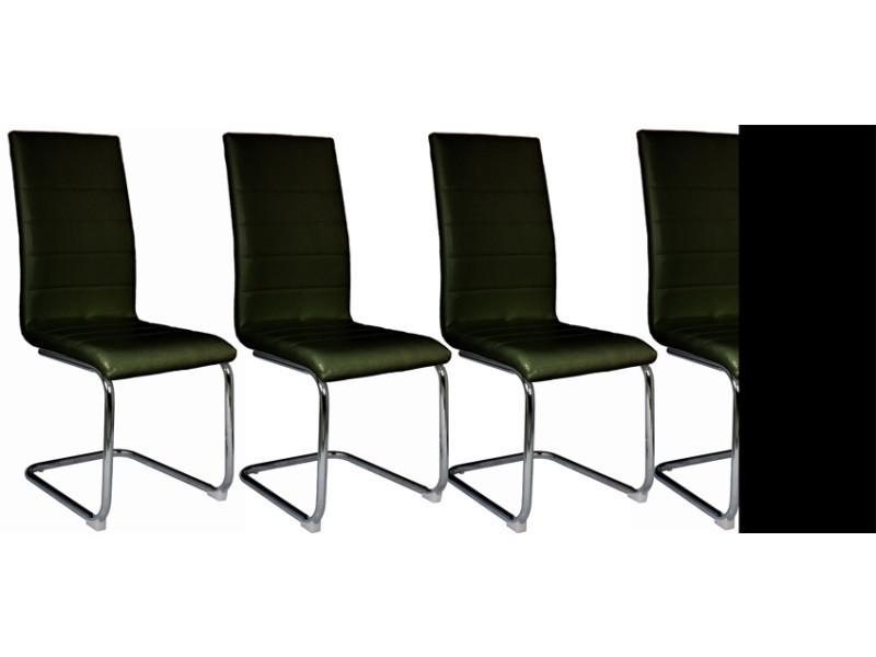 Conforama Ice 4 Vente Lot Chaise Noire Chaises K1fj3tlc De 92WEbeYDIH