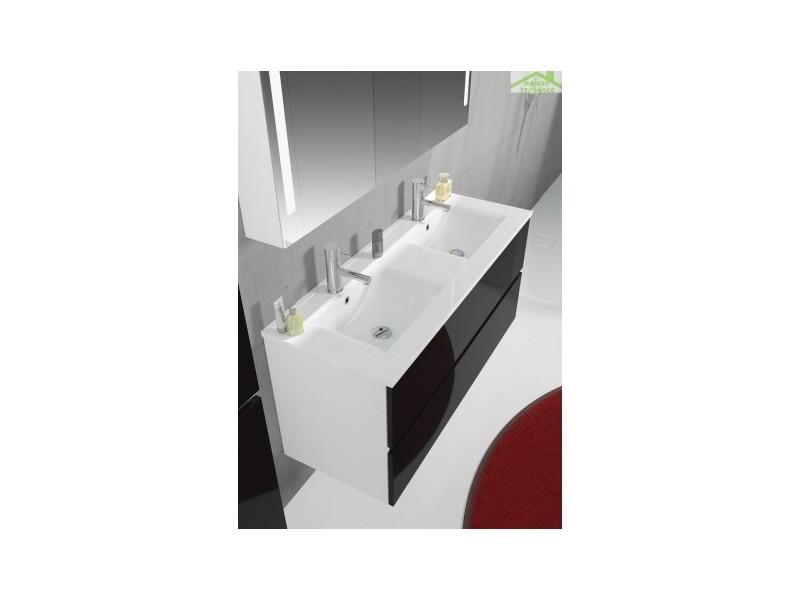 Ensemble meuble & lavabo riho cambio comodo set 22 120x46x h 57 cm - bois laqué brillant FCO120Z01DDDS22
