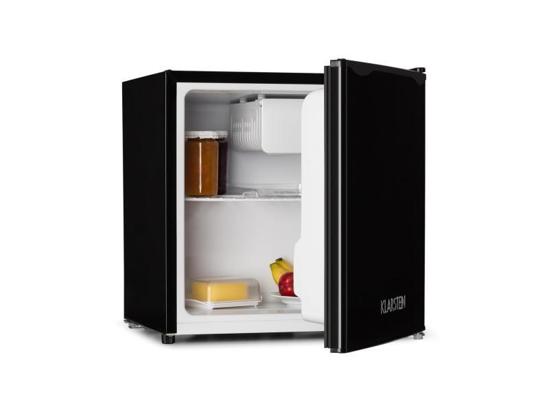 Klarstein réfrigérateur 40l compartiment freezer 39db - classe a+ -noir