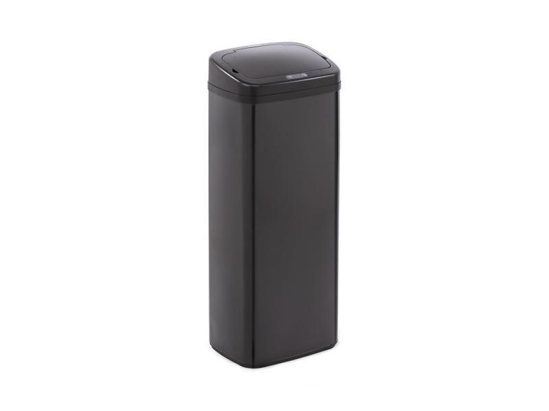 Klarstein cleanton 50 poubelle 50 litres avec capteur - couvercle abs noir KG15-CleansmannB50l