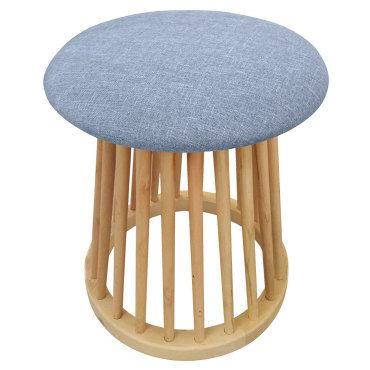 tabouret style scandinave norfolk bleu vente de menzzo conforama. Black Bedroom Furniture Sets. Home Design Ideas