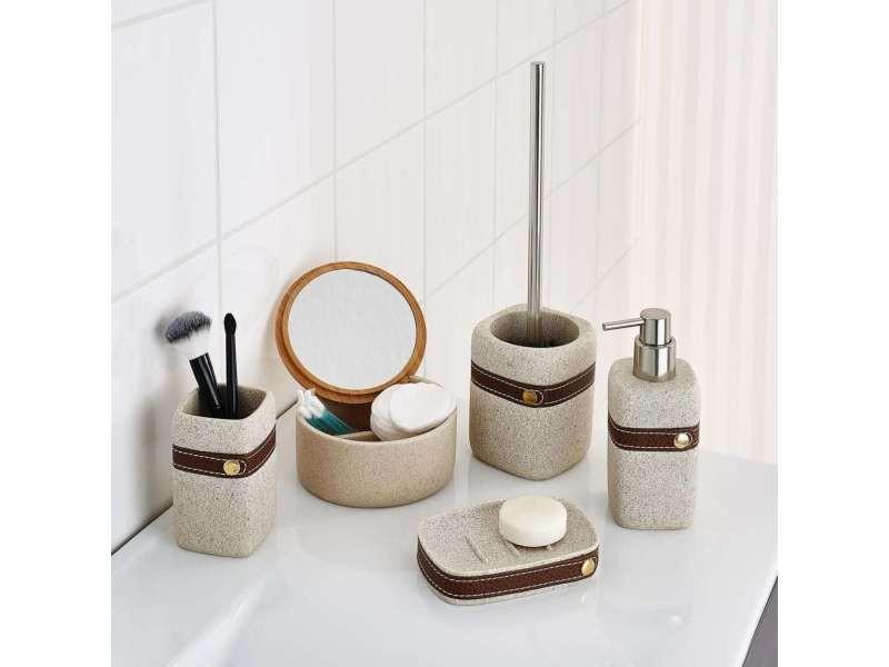 Ridder brosse de toilette avec support superior beige 429743