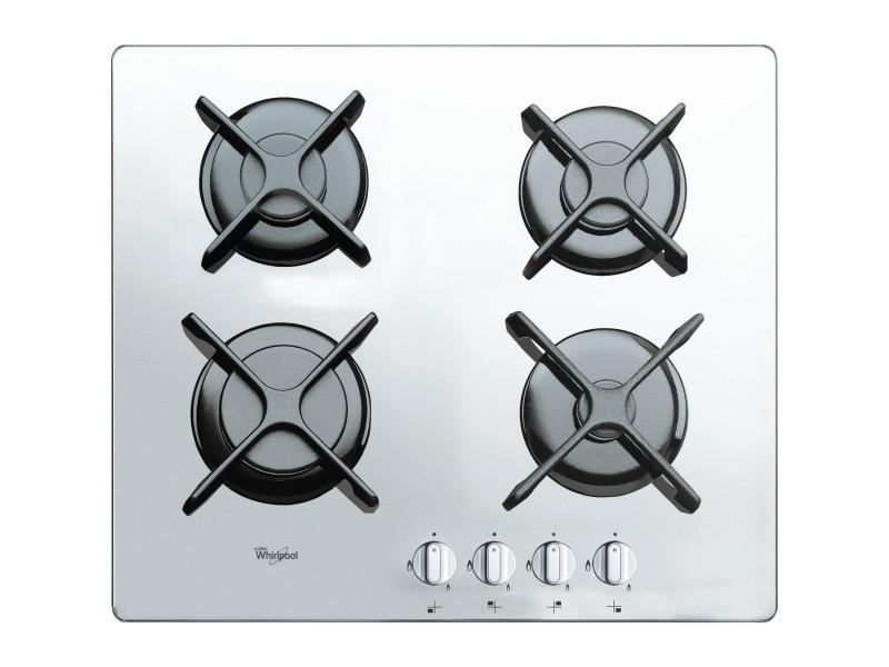 Whirlpool akt 6400/wh blanc intégré (placement) gaz 4 zone(s) AKT 6400/WH