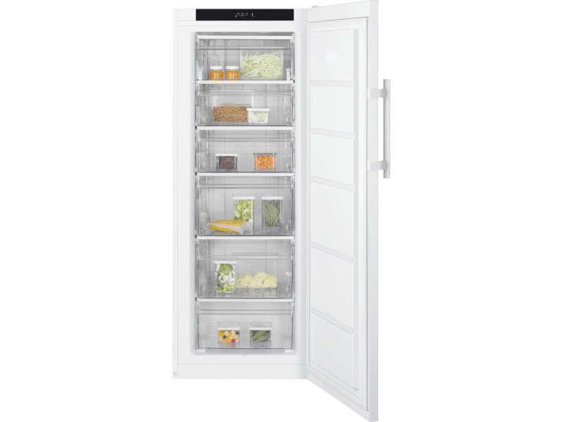 Congélateur armoire 194l froid statique electrolux 60cm a+, lub2af22w ELE7332543720996