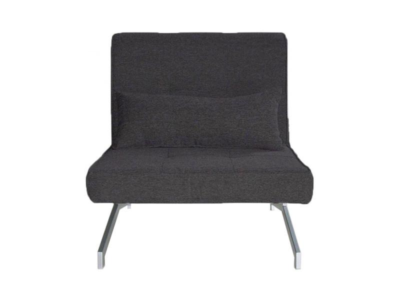 fauteuil convertible bz 1 place marco couleur gris cobalt jk035 1 a01 cobalt vente de tous. Black Bedroom Furniture Sets. Home Design Ideas