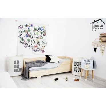 cool lit enfant bois roma xcm with lit petite fille conforama. Black Bedroom Furniture Sets. Home Design Ideas