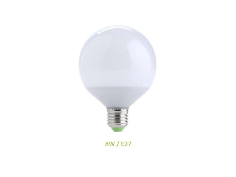 Ampoule e27 8w globe g70 led - blanc froid 6000k EC-3008