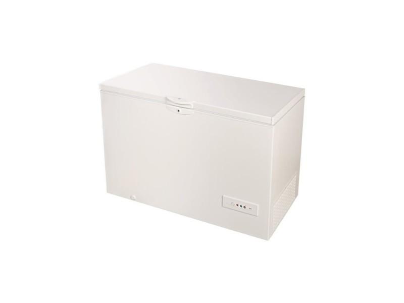 Congélateur coffre 437l froid statique indesit 141cm a+, indos1a450h INDOS1A450H