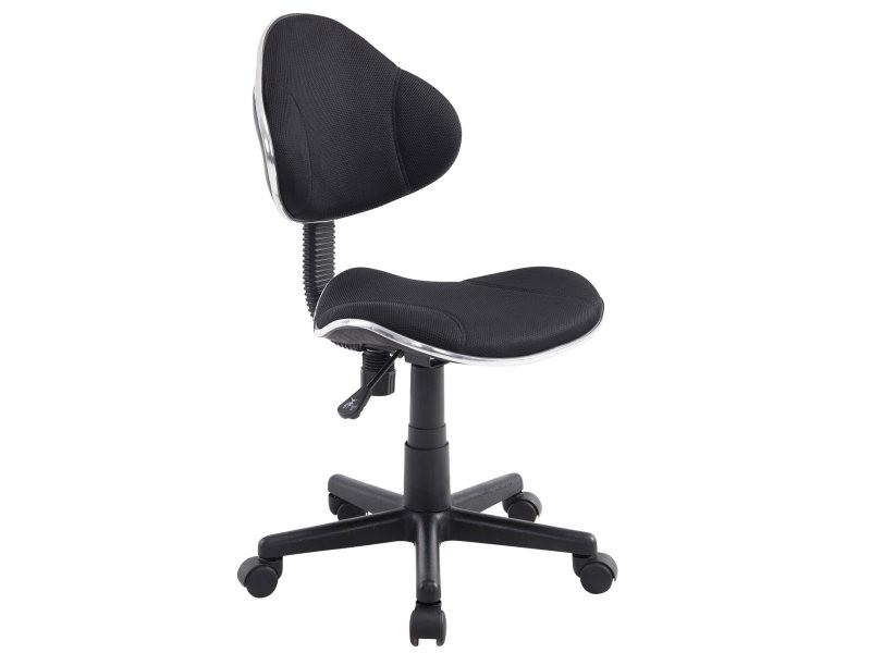 Sublime chaise de bureau funafuti, noir - Vente de