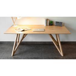 Spider table 180cm - table à dîner en chêne massif