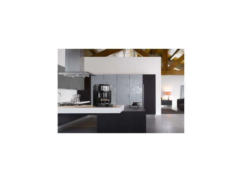 Machine à expresso avec broyeur pour café en grains et moulu 1450w gris noir