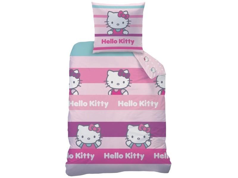 Parure De Lit Hello Kitty Cecile Sanrio Vente De Chambre Complete