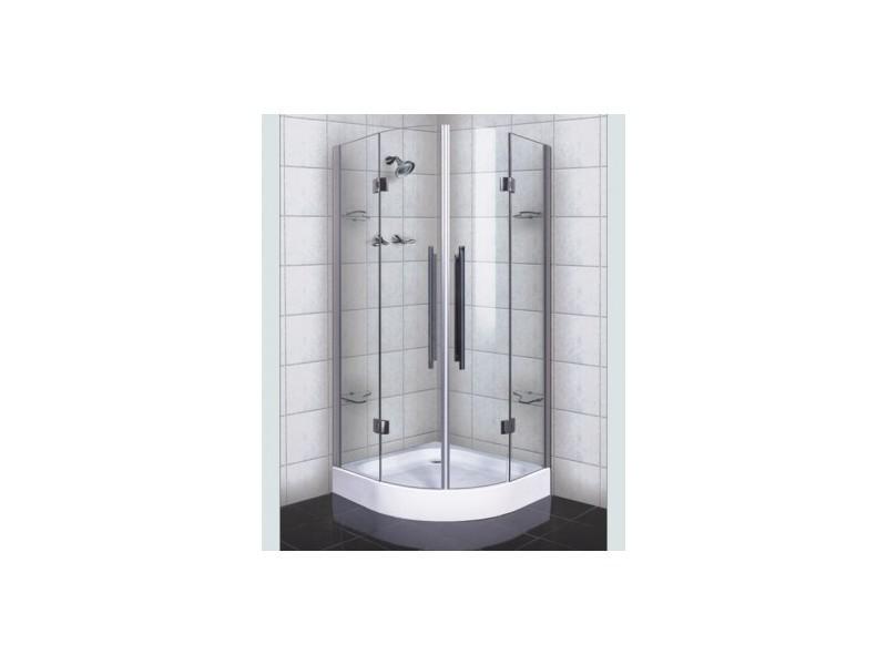 Cabine de douche sarodal 90 90 200 cm ou 100 100 200 cm - Cabine douche exterieure ...