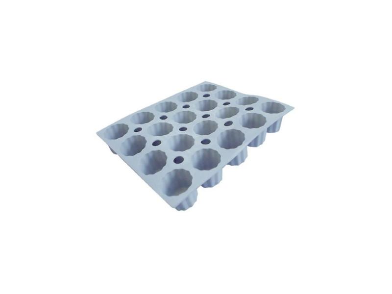 Moule pour 20 mini cannelés bordelais en silicone elastomoule DEB3011241856216