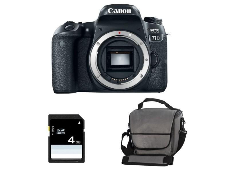 Ans Garanti 3 Nu Sd 4go Eos Canon 77d Sac qX4w7xR