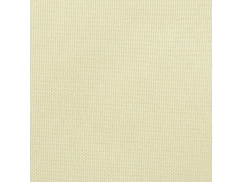Vidaxl parasol en tissu oxford rectangulaire crème 4x6 m 42299