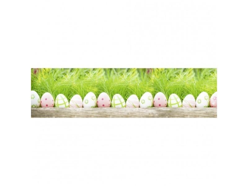 Brise vue 100% occultant oeuf de pâques 300 x 80 cm - canisse brise vent pour clôture de jardin