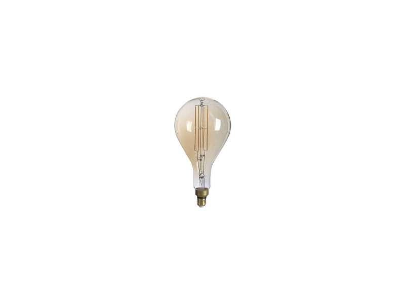 Ampoule led ps160 8w dimmable e27 vintage géante filament - lumière blanc très chaud 1800k SP1790