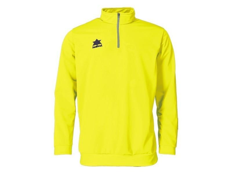 Sweat-shirts de sport stylé taille xl sweat sans capuche luanvi pol jaune