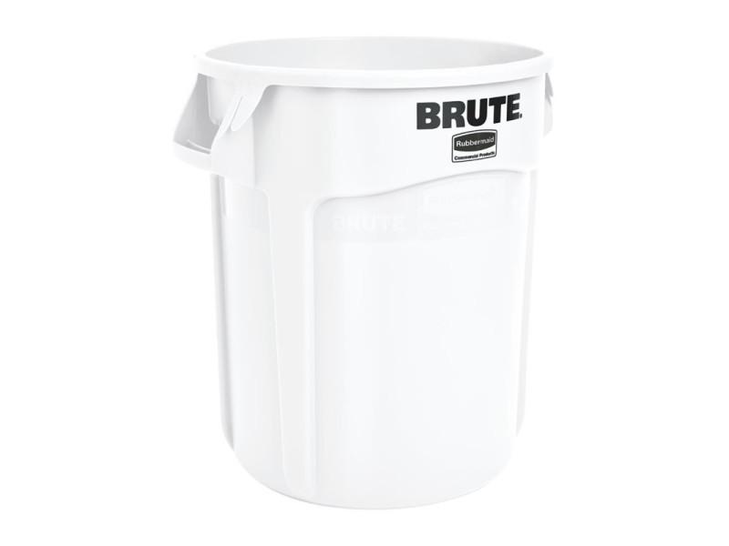 Collecteur blanc - 76 l - rubbermaid - 50 cm polyéthylène 7600 cl