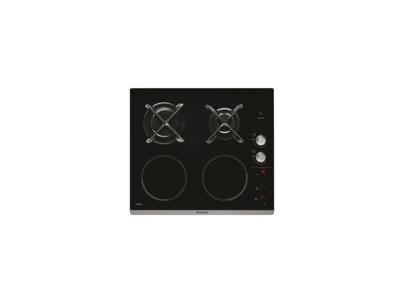 brandt table de cuisson mixte 2 induction 2 gaz vente de plaque de cuisson conforama. Black Bedroom Furniture Sets. Home Design Ideas