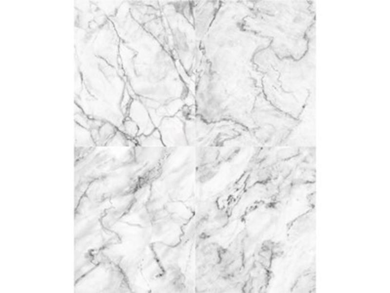 Papier peint dalles de marbre blanc grisé   Conforama