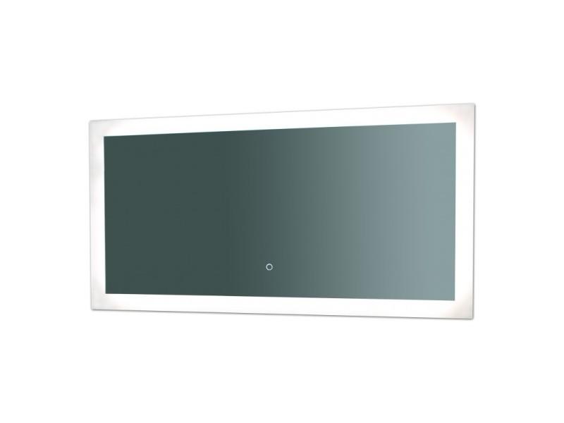 miroir de salle de bains avec clairage led mod le touch. Black Bedroom Furniture Sets. Home Design Ideas