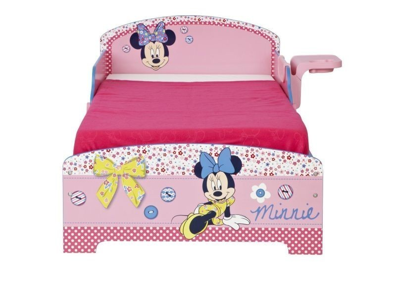 lit enfant disney minnie mousse vente de lit enfant conforama. Black Bedroom Furniture Sets. Home Design Ideas