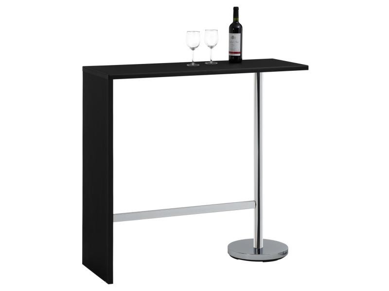 Table haute de bar ricardo mange debout comptoir pi tement for Table haute cuisine conforama