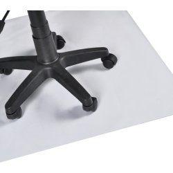 Tapis protection sol bureau pvc m 90 x 120 cm 0502015