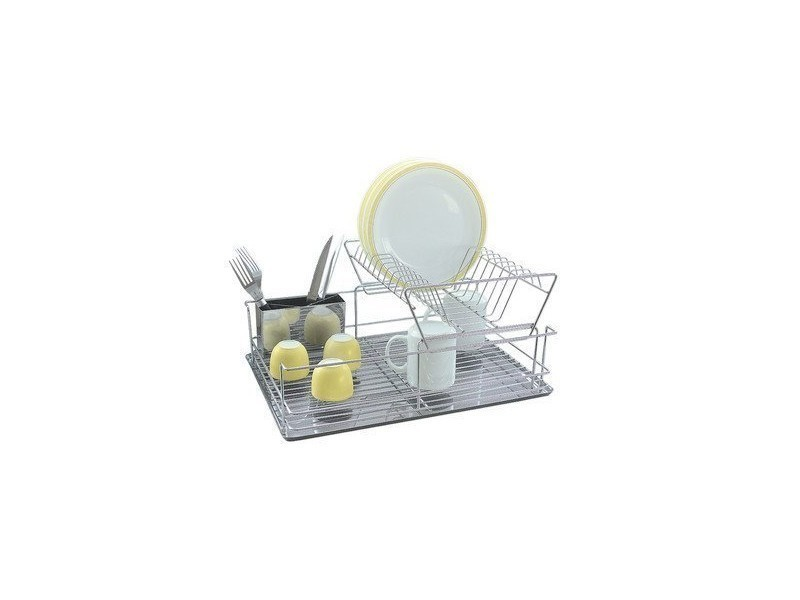 Grand égouttoir à vaisselle en métal