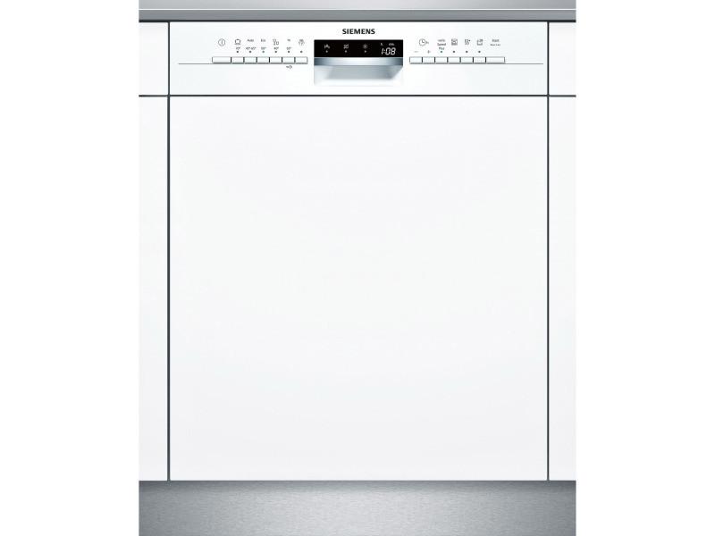 Lave-vaisselle 60cm 14c 44db a++ intégrable avec bandeau blanc - sn536w03ne sn536w03ne