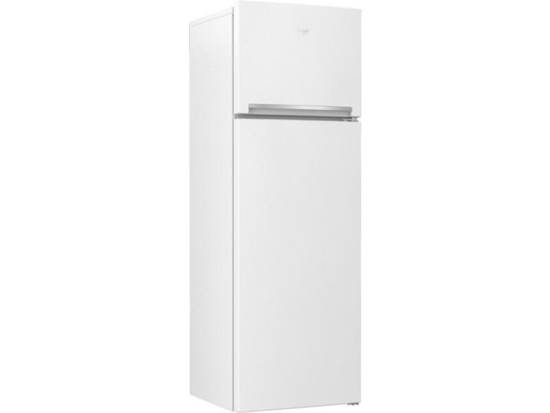 Réfrigérateur 2 portes 306l froid brassé beko 59.5cm f, rdsa 310 k 30 wn 64460