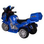 Moto electrique bleu
