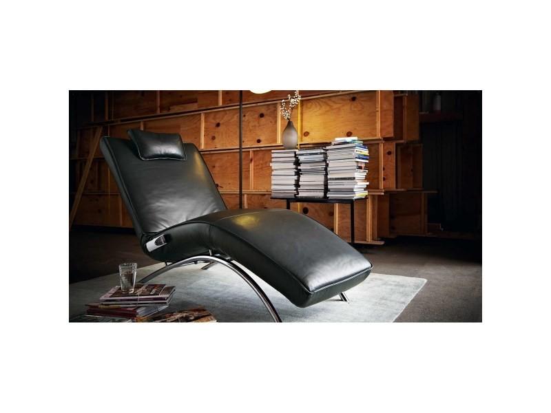 Chaise longue relax électrique chauffante monsieur day lounge