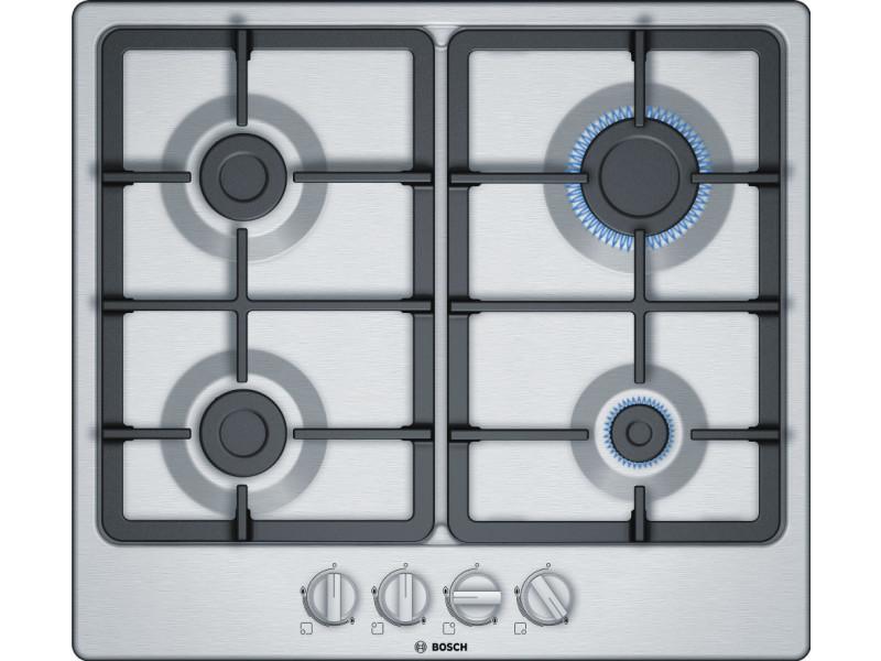 Table de cuisson gaz 60cm 4 feux inox - pgp6b5b90 pgp6b5b90