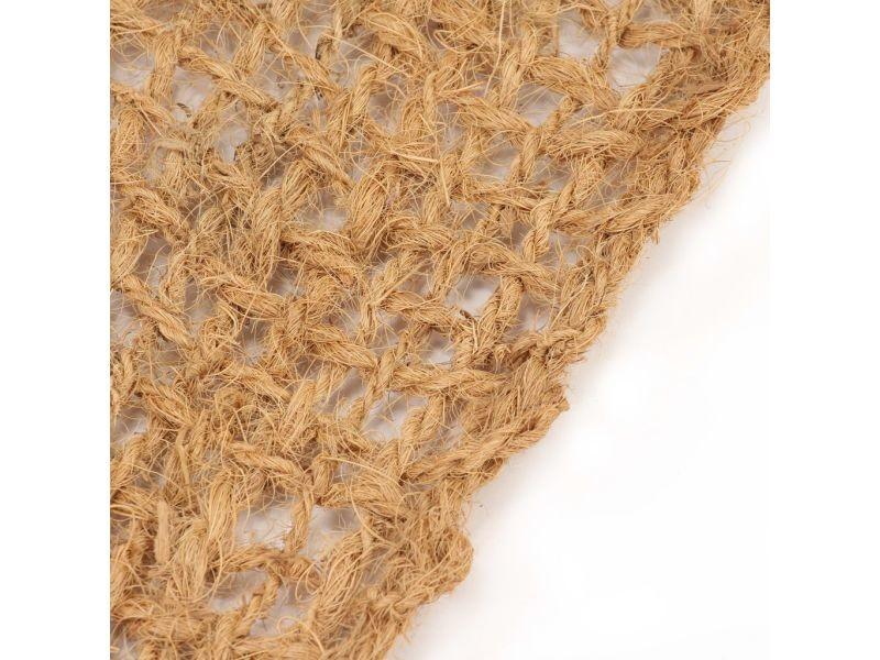 Icaverne - géotextiles selection tapis de contrôle de l'érosion géotextile fibre de coco 1x10 m