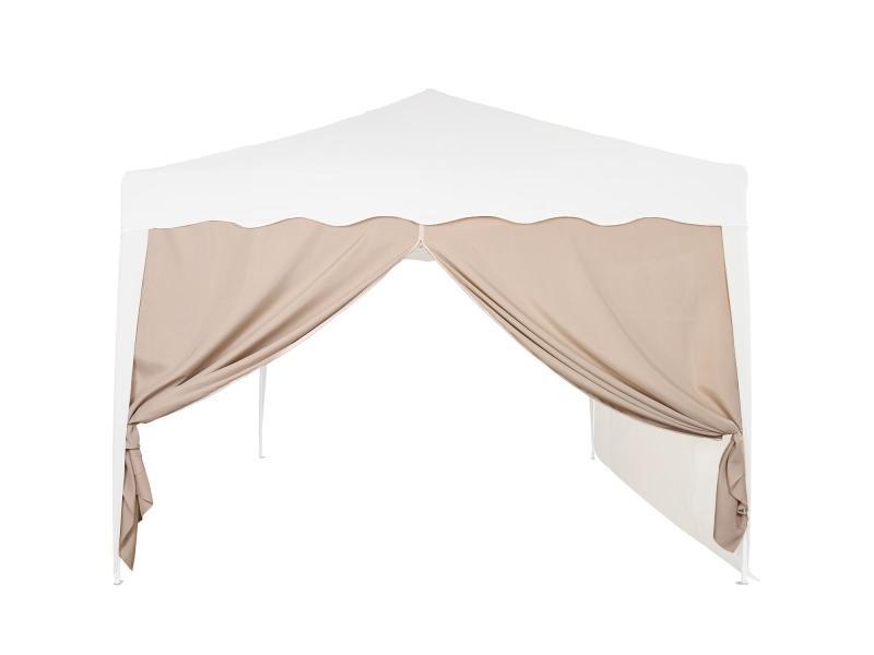 Instent® panneau latéral avec fermeture à glissière, sans fenêtre, coloris au choix - couleur : beige