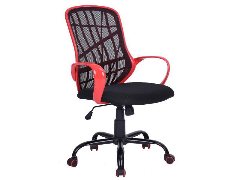 Fauteuil de bureau rouge réglable roulettes vente de fauteuil de