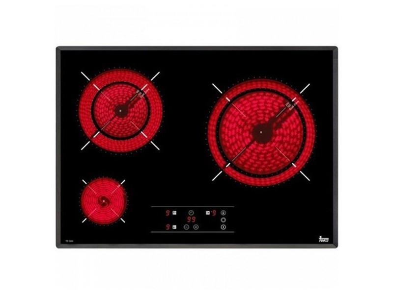 Plaques vitrocéramiques 4750w 60 cm noir - plaque de cuisson cuisine