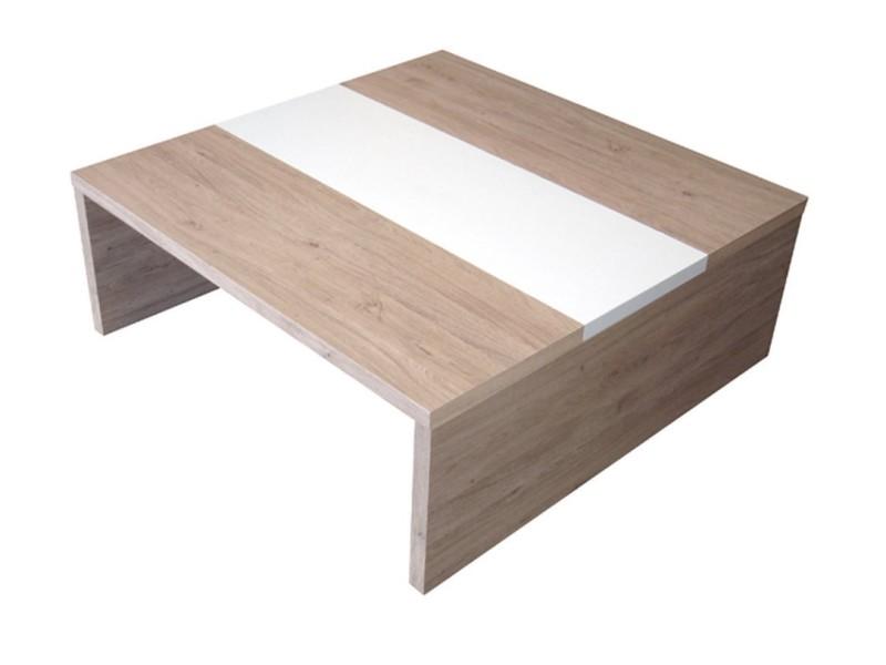 muffin ch ne table basse blanc brillant conforama. Black Bedroom Furniture Sets. Home Design Ideas