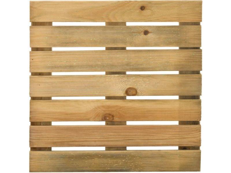 Caillebotis 50 cm en bois traité autoclave