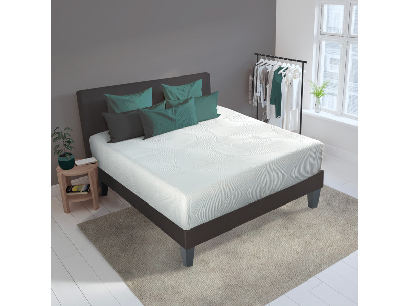matelas hera 90x190 m moire de forme 24 cm vente de olympe literie conforama. Black Bedroom Furniture Sets. Home Design Ideas