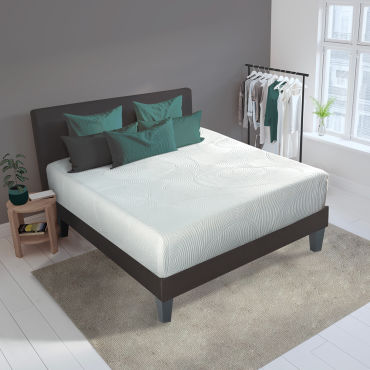 matelas hera 90x190 m moire de forme 24 cm vente de olympe literie conforama. Black Bedroom Furniture Sets. Home Design Ideas